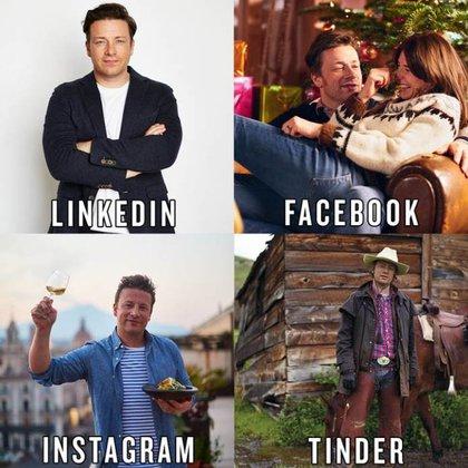 El chef británico Jamie Oliver