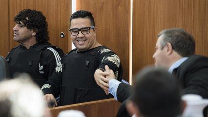 """Ariel """"Guille"""" Cantero en el juicio en su contra (Adrián Escandar)"""