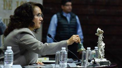 Padierna defendió su propuesta de las críticas asegurando que los proyectos se mantendrán aunque se extingan los fideicomisos (Foto: Cuartoscuro)