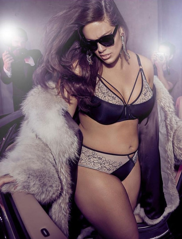 af86188abbd Ashley Graham: la historia secreta de la modelo XL que enloquece al ...