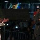 zzzznacp2NOTICIAS ARGENTINAS BAIRES, JULIO 15: La presidenta Cristina Fernández inaugura junto a su par del Estado Plurinacional de Bolivia, Evo Morales, el monumento a Juana Azurduy, heroína de las luchas independentistas en Sudamérica. FOTO NA: MARCELO CAPECEzzzz