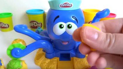El pulpo de Play Do se recomienda para niños pequeños de 1 año en adelante, además de ser de los favoritos en las listas de Reyes (Foto: Youtube / Play Do, Playland)