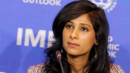 15/07/2020 Gita Gopinath, economista jefe del FMIECONOMIAFMI