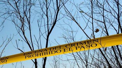 Pobladores creyeron que se podrían tratar de restos de diez personas pero las autoridades lo descartaron (Foto: Cuartoscuro)