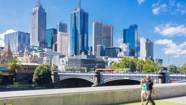 Melbourne fue elegida siete veces seguidas como la mejor ciudad para vivir, pero ahora quedó segunda (Getty)