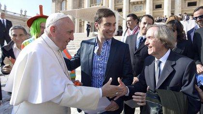 Carlitos Balá y su encuentro en el Vaticano con el papa Francisco (NA)