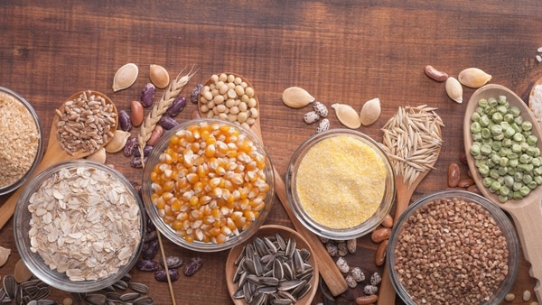 Los granos enteros son esenciales en la dieta (Shutterstock)
