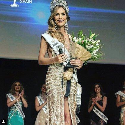 Ángela Ponce es la primera mujer transexual en ganar Miss Universo España (Instagram: publiservicios)