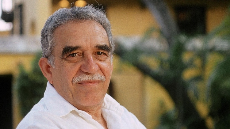 Gabriel García Márquez, quien siempre agradeció a su maestra el amor a la literatura. (Foto: Archivo Infobae)
