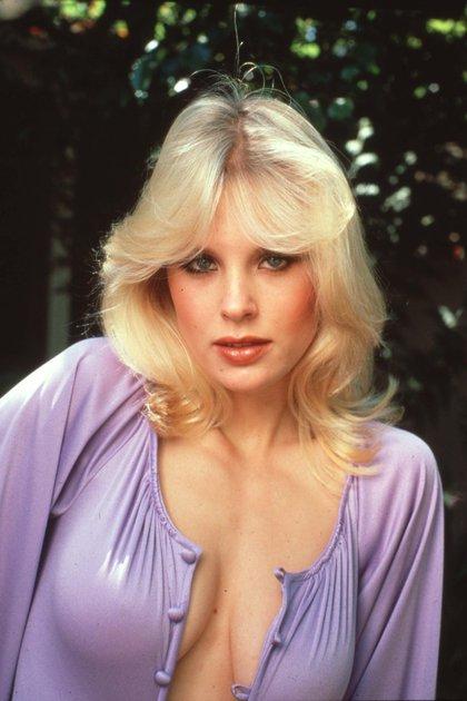 Todo explotó en su vida en agosto de 1979. Ese mes estuvo en la calle el número de Playboy que la tenía como centerfold, en el poster desplegable central de la publicación. Y se potenció cuando en julio de 1980 fue nombrado Playmate del año (Shutterstock)
