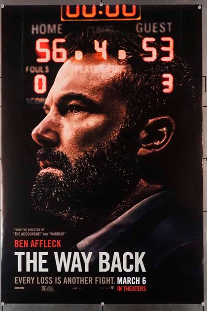 The Way Back, dirigida por Gavin O'Connor, producida y protagonizada por Ben Affleck