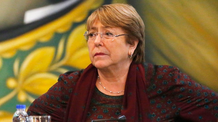 Michelle Bachelet, la alta comisionada de Naciones Unidas para los derechos humanos (AP /Ariana Cubillos)