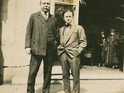 Conan Doyle y Houdini
