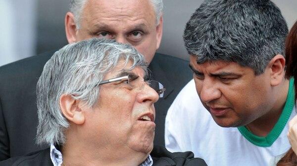 Hugo y Pablo Moyano (NA)