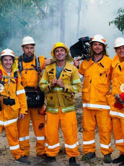 Zac escribió un mensaje para conmemorar el Día de la Tierra y mostró una fotografía en la que aparece trabajando codo a codo con Girringun, una organización conformada por nueve grupos tribales que luchan por la conservación del medio ambiente en Cardwell, Australia (Foto: Instagram/ @zacefron)