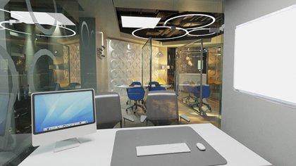 El Hotel Sheraton reconvirtió sus espacios en salas de oficinas que se pueden alquilar por día (Prensa Sheraton)