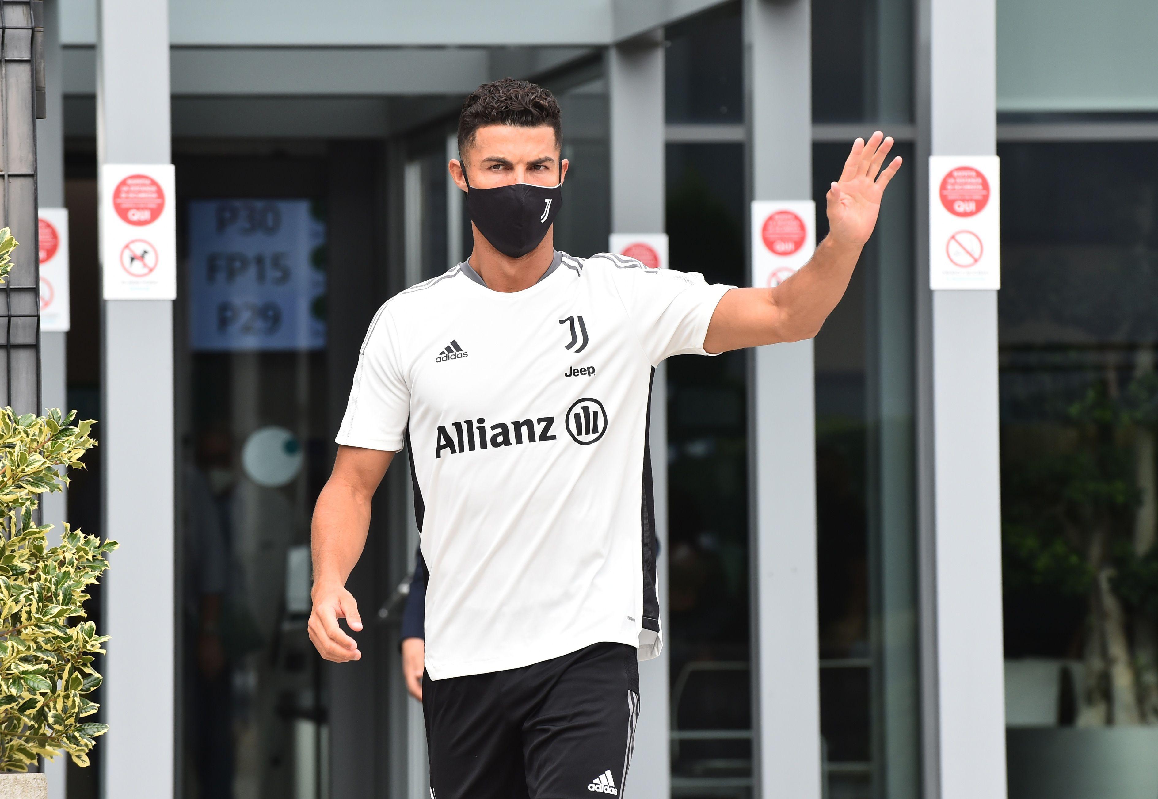 El portugués paso por el centro deportivo de la Juventus (Reuters)
