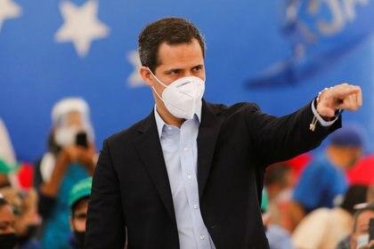 El líder opositor venezolano Juan Guaidó