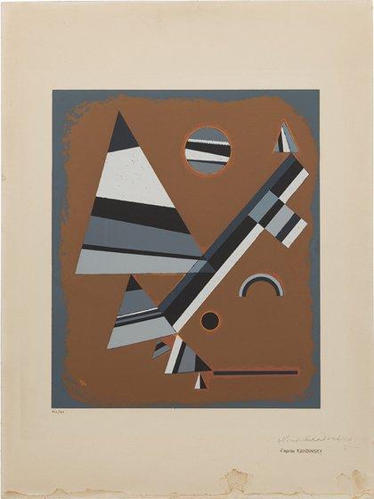 Los trabajos expuestos buscan mostrarla evolución del arte moderno y su desplazamiento final hacia la abstracción