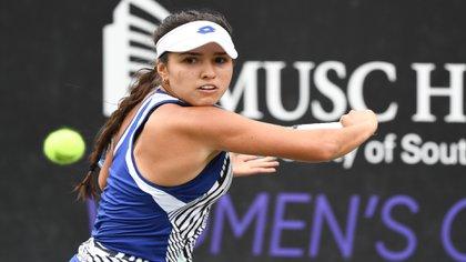 María Camila Osorio clasifica a la semifinal del MUSC Health Women's Open 2021