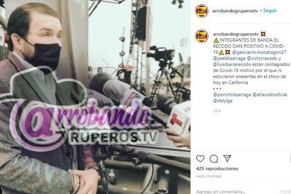 Poncho Lizárraga reportó infecciones por COVID-19 en la Banda El Recodo