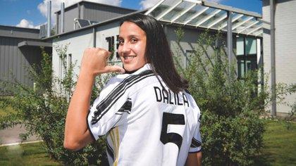 Dalila Ippolito será la primera representante albiceleste en competir en la Serie A1 (Foto: @juventusfces)