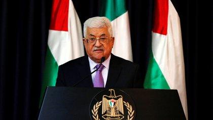 El presidente de la Autoridad Nacional de Palestina, Mahmud Abbas (Reuters)