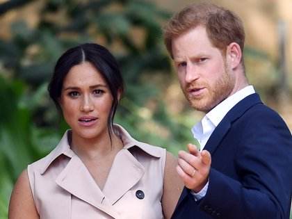 Markle y su esposo, el príncipe Harry, se mudaron a Estados Unidos este año tras dejar Canadá (EFE/EPA/FACUNDO ARRIZABALAGA/Archivo)