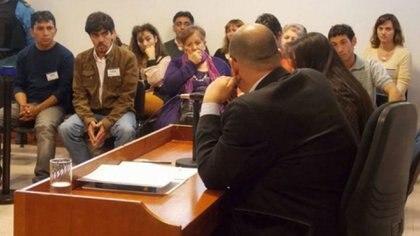 Foto de archivo: el primer juicio por jurado en la provincia de Buenos Aires