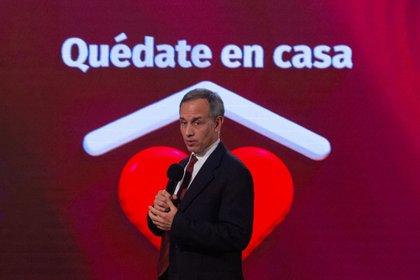 Hugo López-Gatell, subsecretario de Prevención y Promoción de la Salud, durante la conferencia vespertina de este viernes (Foto: Cuartoscuro)