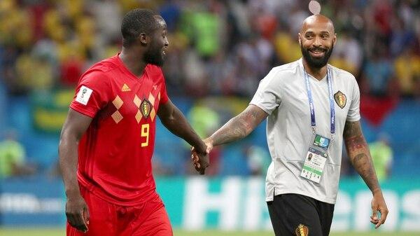 Thierry Henry, clave en el crecimiento de Romelu Lukaku en Bélgica (REUTERS/Sergio Perez)