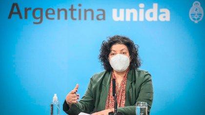 Carla Vizzoti se reunirá hoy con sus pares provinciales y alertó que lo que pase en mayo dependerá de cómo se cumplan los controles vigentes