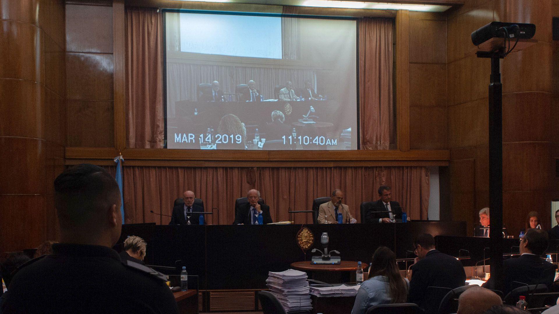 El tribunal del juicio oral por la mafia de los contenedores