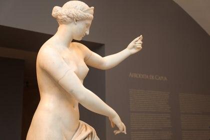 """""""Afrodita de Capua"""" en el Bellas Artes"""