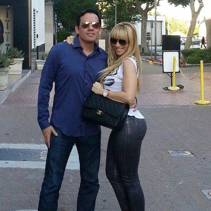 Reynoso está casado con Noelia desde 2007 y también funge como su manager (Foto: Instagram @noelia)