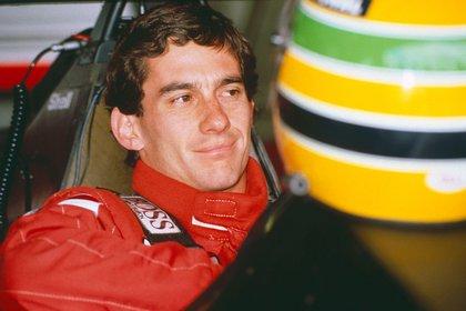 En 1993 Senna vivió una situación límite con McLaren (Shutterstock).