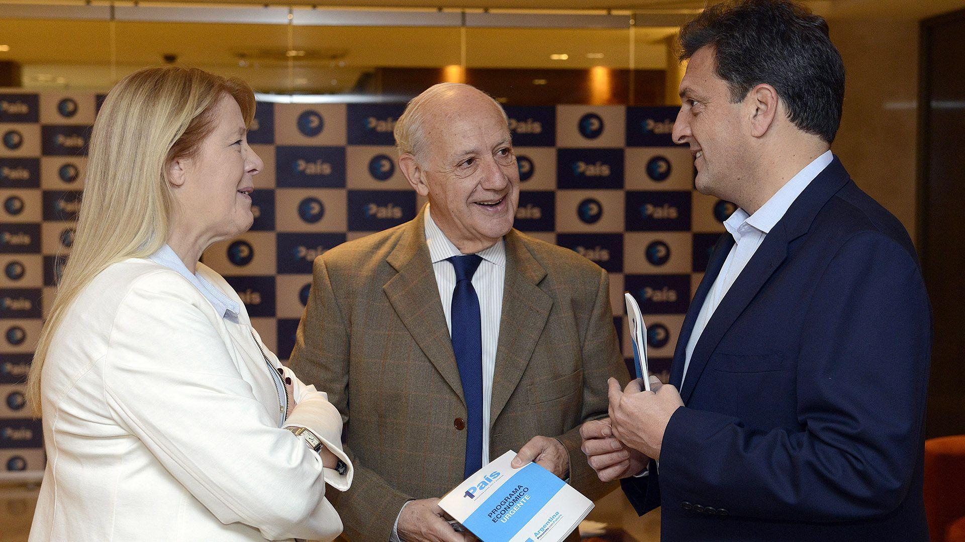 """La líder del GEN había formado parte en 2017 de la coalición """"1 País"""" junto con Sergio Massa. (Prensa 1País)"""