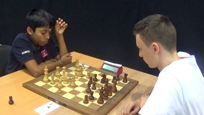 Pragg se consagró en el maestro internacional más joven del historial de este juego.