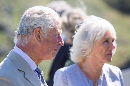 El príncipe de Gales y Camilla Parker Bowles (Reuters)