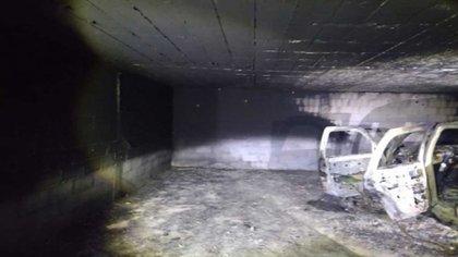 """Primeras imágenes del escondite  descubierto por la SEDENA y que supuestamente pertenecen al grupo de crimen organizado """"Los Escorpiones"""" (Foto: Captura de Pantalla)"""