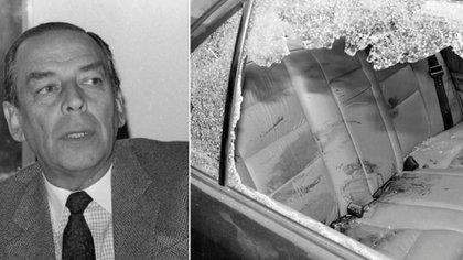 Álvaro Gómez Hurtado, líder político colombiano asesinado el 2 de noviembre de 1995.