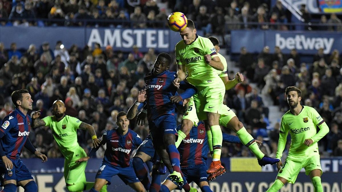 Levante Surprises Barcelona And Wins Since Copa Del Rey Joluu