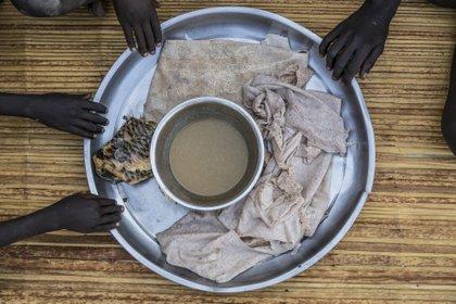 15/01/2020 Aide alimentaire aux habitants de Nyal, Soudan du Sud SOUDAN DU SUD POLITIQUE INTERNATIONALE PAM / GABRIELA VIVACQUA
