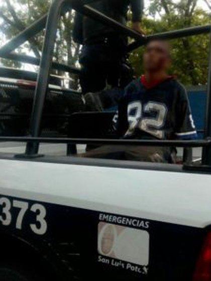 """A su corta edad, """"El Niño Sicario"""" ya había cumplido una condena en el penal de Río Verde. Su supuesta vida de sicario comenzó a los 10 años (Foto: Zona Potosina)"""