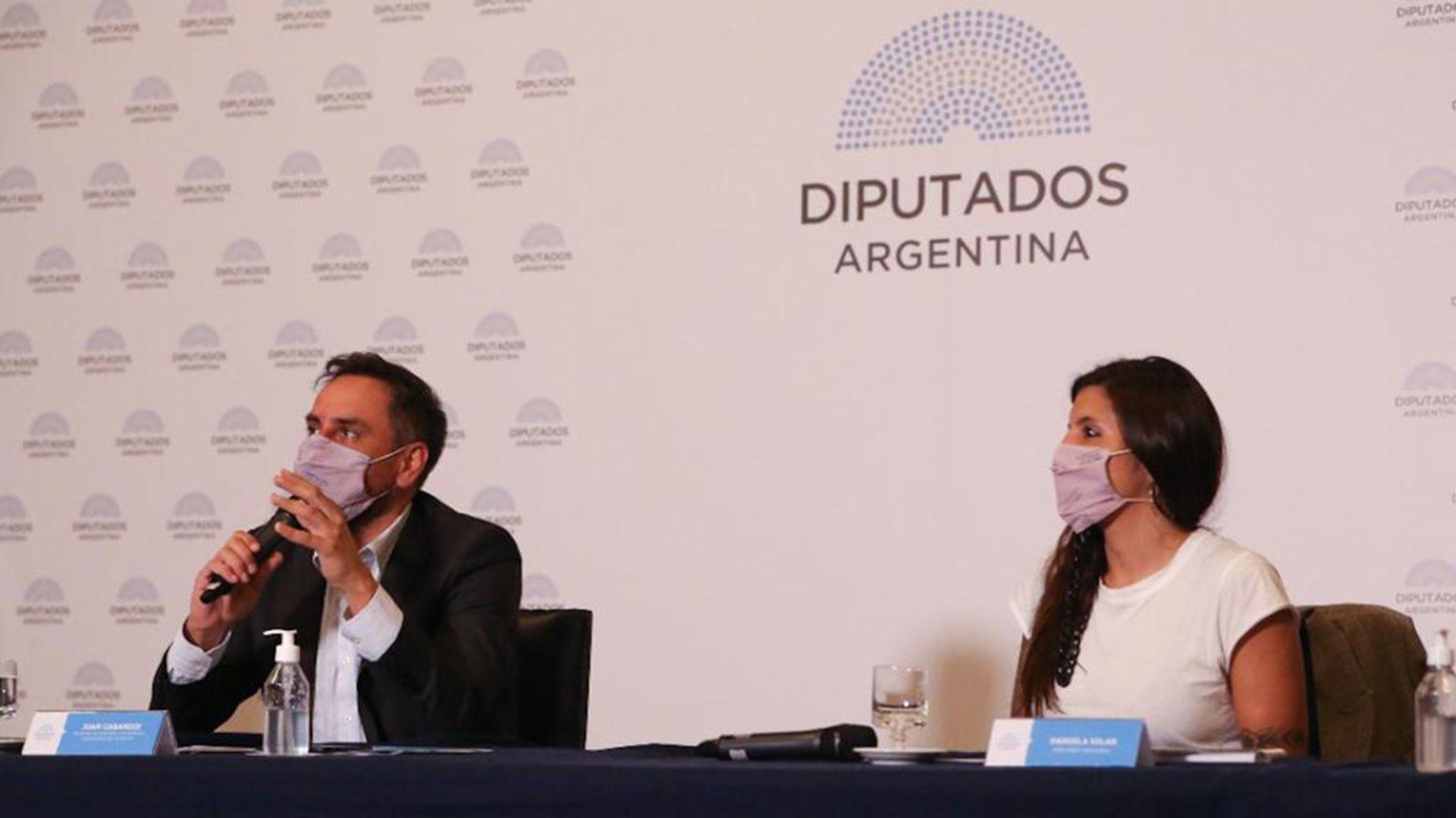 Juan Cabandie Daniela Vilar diputados Foro Legislativo Ambiental