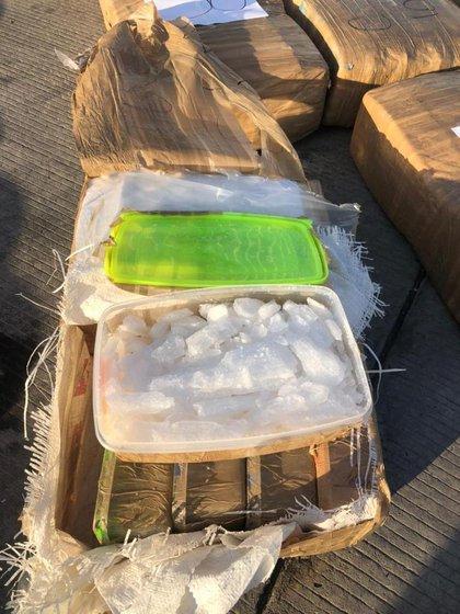 La droga fue decomisada en dominios del Mayo Zambada (Foto: Especial)