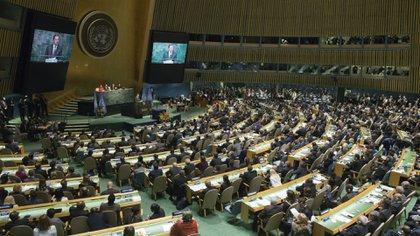 El Acuerdo de París se negoció en diciembre pasado y el viernes al menos 175 estados lo firmaron en la sede de la ONU en Nueva York AP 163