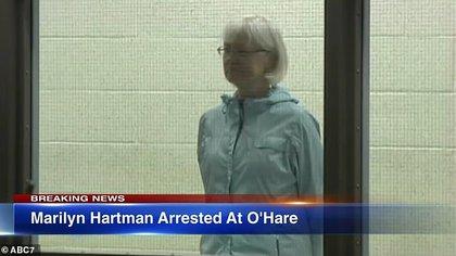 Hartman detenida