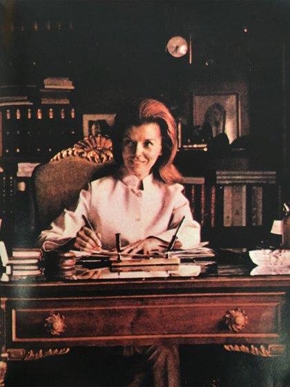 Isabel Perón (Foto de archivo)