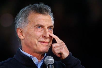 El ex presidente Mauricio Macri reapareció esta semana en la escena política EFE/Juan Ignacio Roncoroni/Archivo